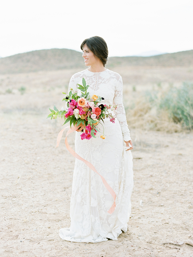 Indian Summer Workshop_Bows and Arrows Bouquet_Marfa